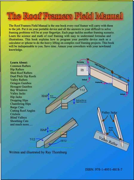 How To Lay Out A Hip Rafter Explained By A Holly Hill Sc Home Inspector Blue Palmetto Home Inspection