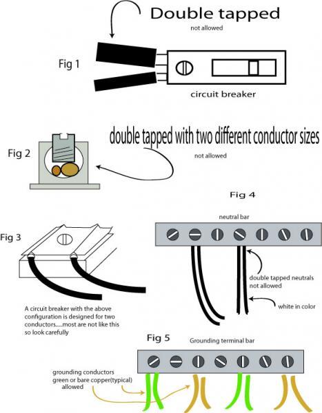 double tap diagram double pole double throw diagram
