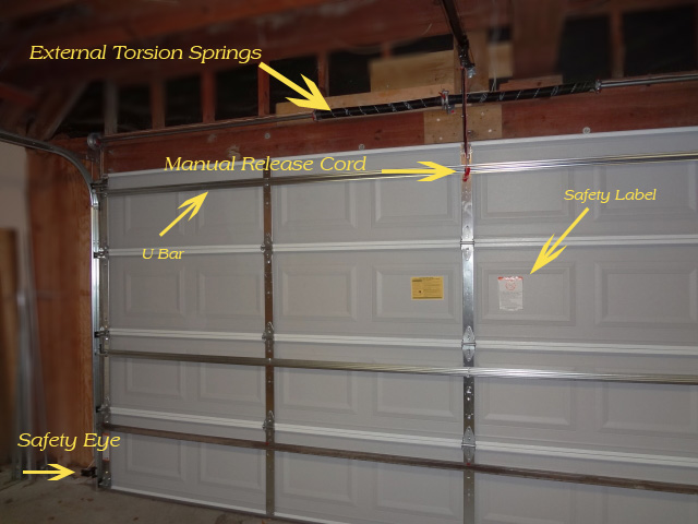 Garage Door Inside