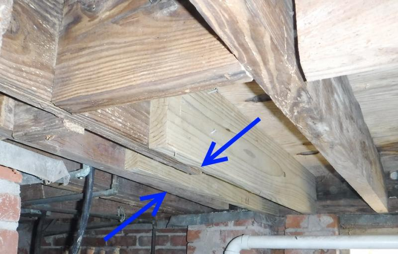 How To Splice A Joist Or Rafter Blue Palmetto Home