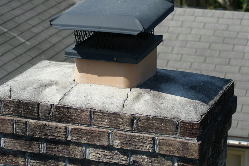 cracked chimney cap - Fireplace And Chimney Safety Discussion In The Charleston