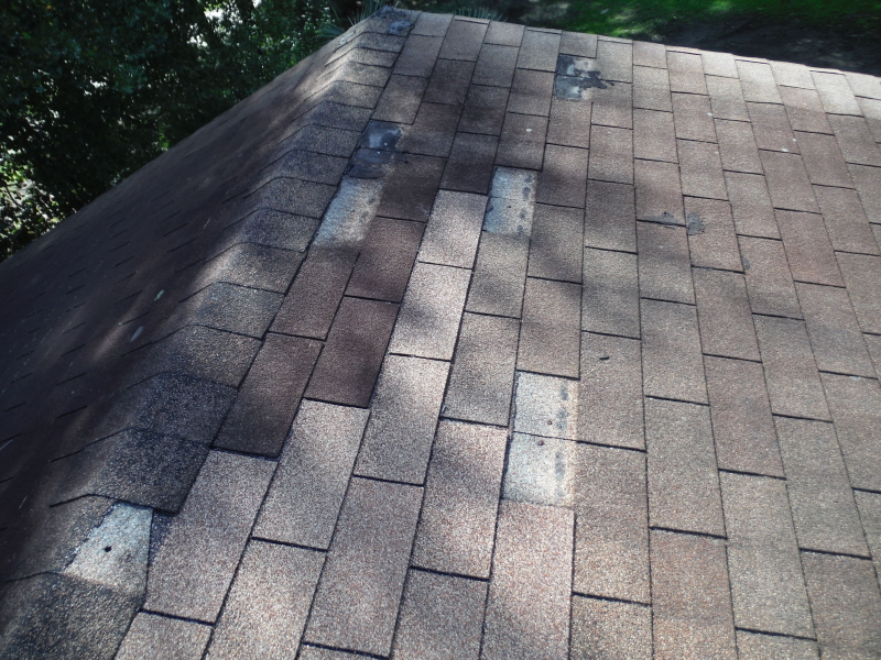 missing tabs on shingles